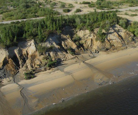 BANK PROTECTION, LA GRANDE RIVER, JAMES BAY