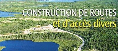 Construction de route